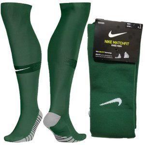 Nike  Match Fit Knee High Soccer Socks Dark Green